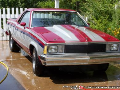 1981 Chevrolet El Camino 350 Big Block v8