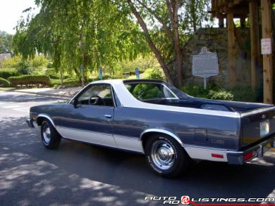 1984 Chevrolet El Camino 350 Big Block v8