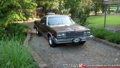 1983 Chevrolet El Camino 283 Small Block V8
